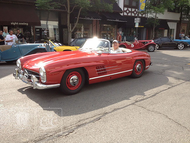 1961 Mercedes 300SL Roadster