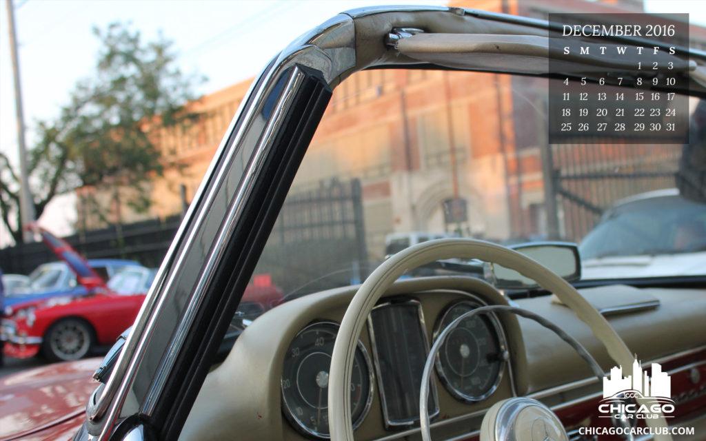 1961 Mercedes 300SL Roadster Wallpaper