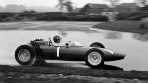 racecar, racecar driving, vintage cars, classic cars,