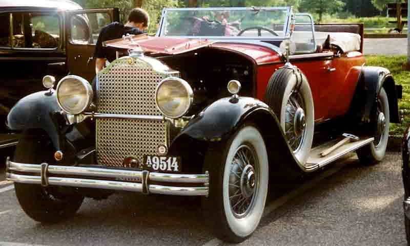 classic car buyer, vintage car buyer, historical car buyer, car historian, Packard Eight